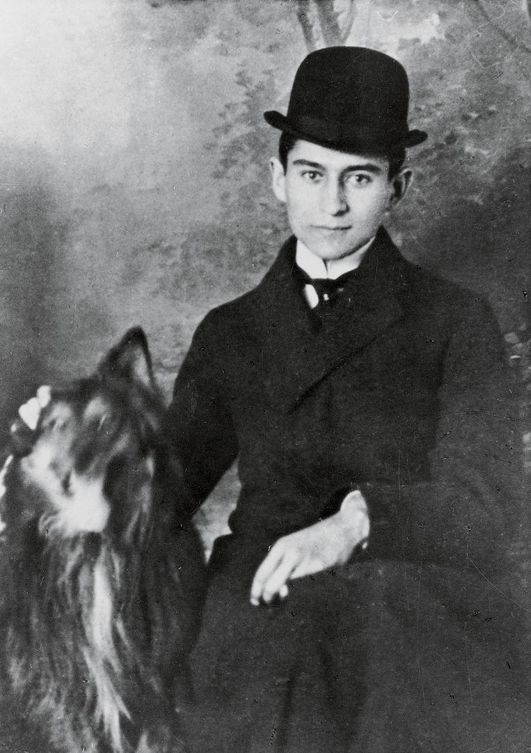 Franz Kafka, circa 1905. Beeld Getty