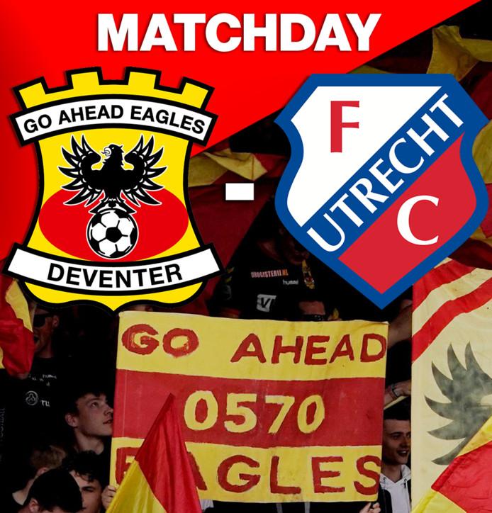 Vanavond de kwartfinale van de KNVB-beker tussen GA Eagles en FC Utrecht.