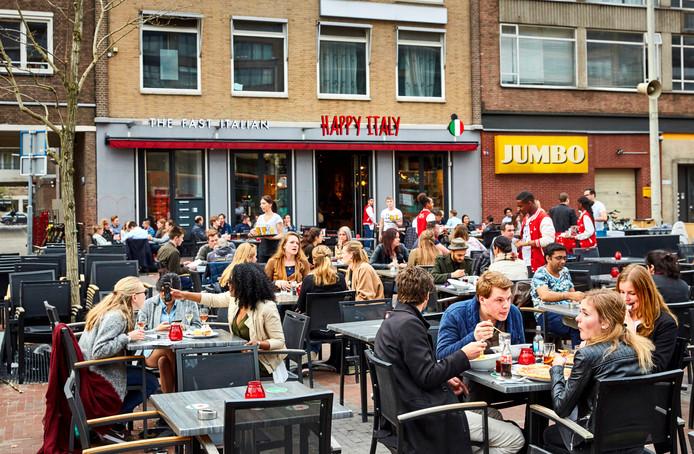 Een vestiging van Happy Italy aan de Binnenrotte in Rotterdam.