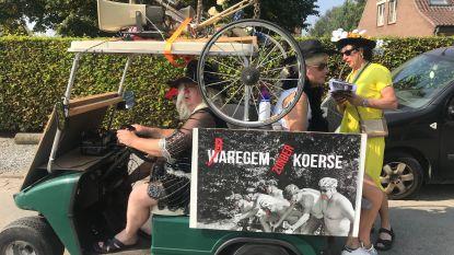 Faubourg-stoet trotseert wegenwerken: Baardegemnaren lachen met eigen miserie