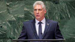 Cubaanse president verstuurt eerste tweet