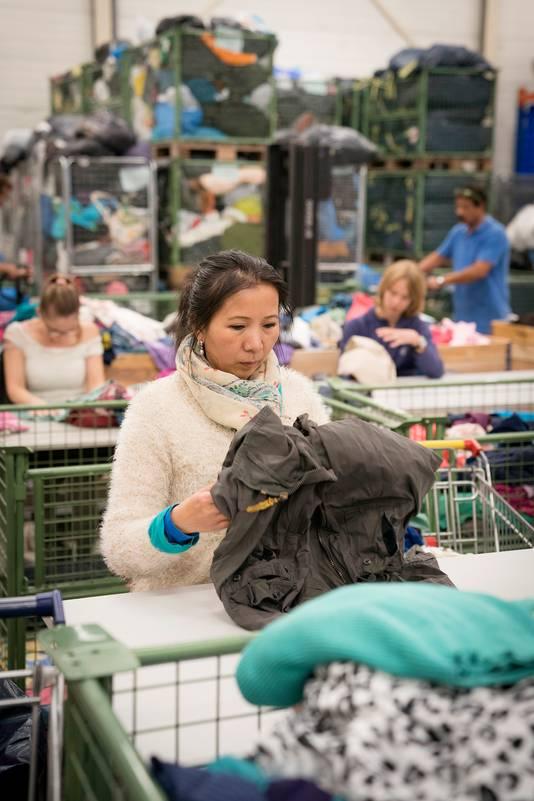 Het Goed in Schijndel beschikt over een groot textielsorteercentrum.