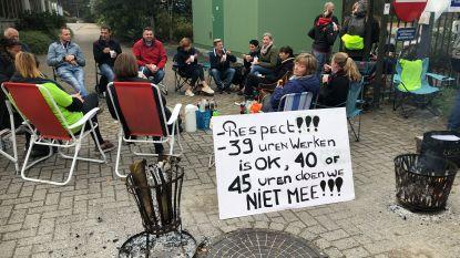 Arbeiders Sanico verwerpen voorakkoord: staking gaat ook morgen voort
