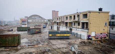 Kaalslag door nieuwe woonwijk rond Melkhal in Enschede