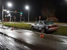 Vooral blikschade bij ongeval tussen auto en vrachtwagen op N18 bij Lichtenvoorde