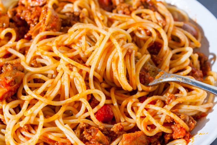 Heerlijke pasta.