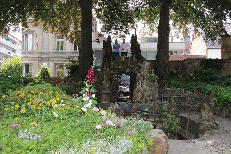 De bekende tuin met grot van Joly blijven bewaard.