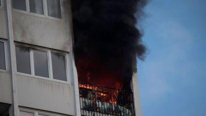 Vrouw en drie kinderen komen om in flatbrand in Frankrijk