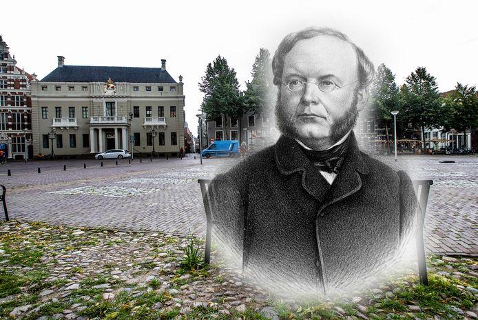 Wolter Robert baron van Hoëvell werd in Deventer. Zijn vader was burgemeester van Deventer.