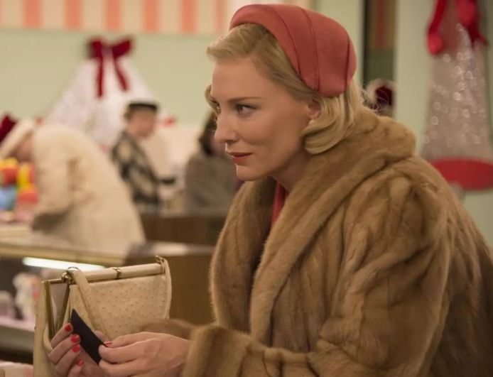 "Cate Blanchette dans le film ""Carol"" (2015)."