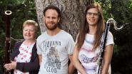 Muzikaal trio 'Feather' in Sint-Amatuskerk