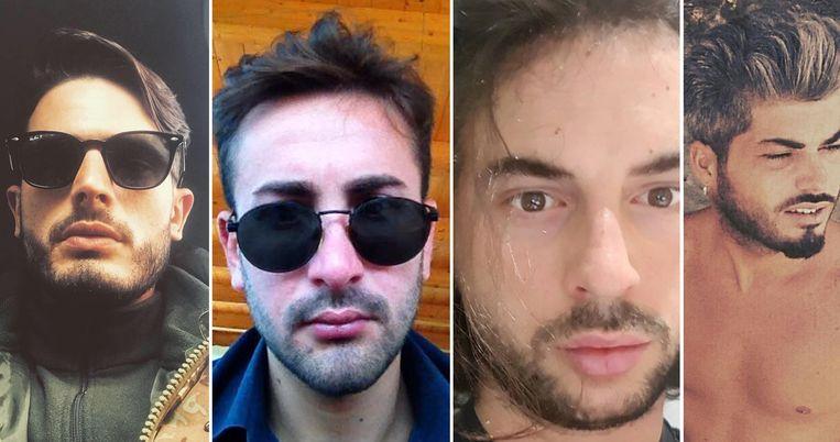 Antonio Stanzione, Gerardo Esposito, Matteo Bertorati en Giovanni Battiloro.