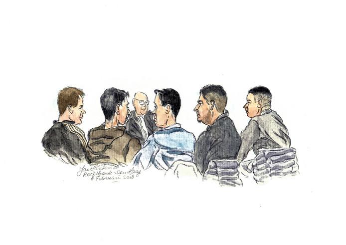De jongeren uit Boskoop en Waddinxveen zeggen dat ze geen deel uitmaken van een criminele organisatie.