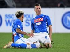 Napoli zet druk op Juventus met zege op Lazio
