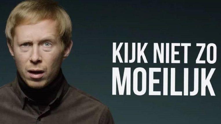 Still uit de campagne van Film.nl gefotografeerd door Pieter Henket. Beeld Film.nl