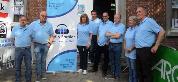 De ploeg van Radio Barbier is er klaar voor.