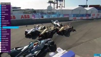 Titelstrijd Formule E nog niet beslist na incidentrijke eerste race in New York