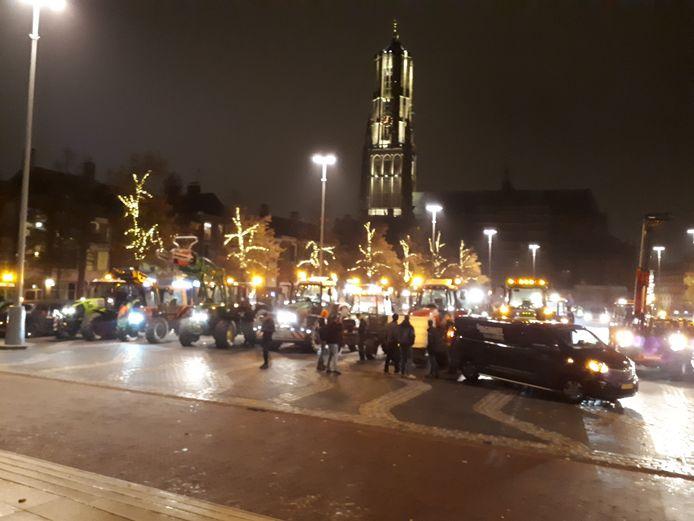 De bouwers zijn verzameld in Arnhem.