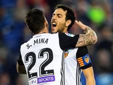 Valencia blijft in spoor van FC Barcelona na zege op Espanyol