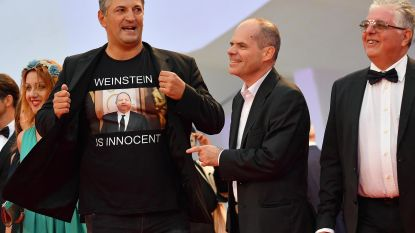 """""""Weinstein is onschuldig"""": regisseur provoceert op rode loper van filmfestival"""