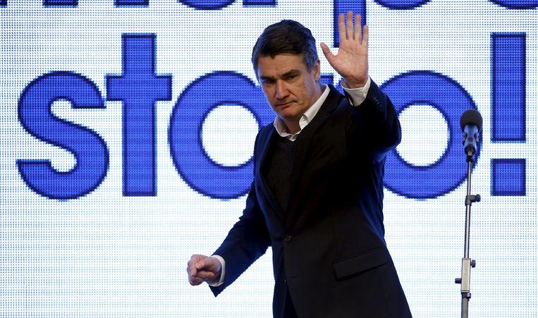 Premier Zoran Milanovic. Beeld REUTERS