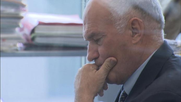 Projectontwikkelaar Didier De Witte bij zijn proces in de Gentse correctionele rechtbank.