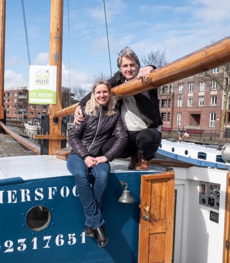 Monique en Laurens zetten historisch binnenvaartschip te koop