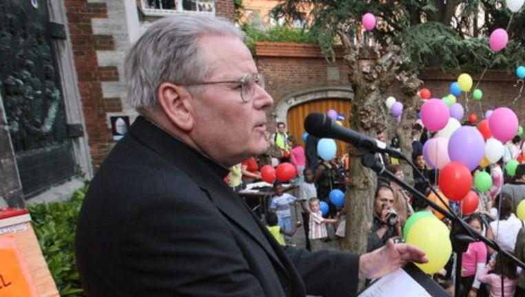Ex-bisschop Roger Vangheluwe, foto uit 2006