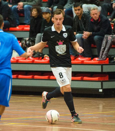 Zaalvoetballer Dick Hulshorst is weer terecht