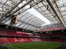 Geen voetbal, wel dineren op veld van Johan Cruijff Arena