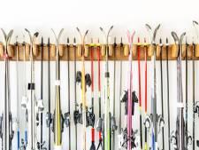 Skiën op borstelbaan is ook voor Drentse skitalenten best wennen