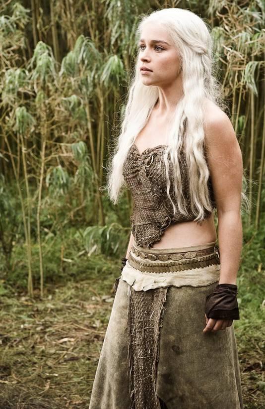 DaenerysTargaryen alias Khaleesi, het favoriete personage van Tirza Schouten in Game of Thrones.