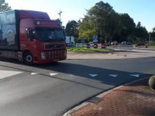 Rotondes in Rijssen dicht voor asfaltering
