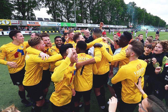 Unitas'30 werd vorig seizoen kampioen in de tweede klasse E.