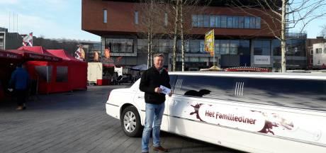 Sorry-limousine uit Het Familiediner komt naar Enschede