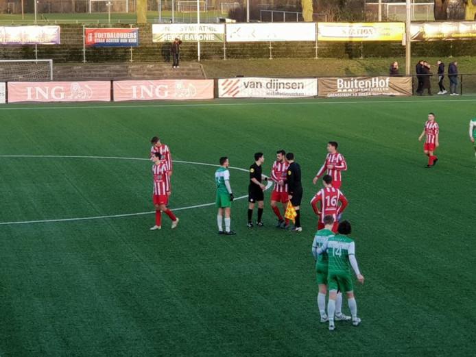 Baronie scoorde zesmaal tegen het Limburgse EHC/Heuts.