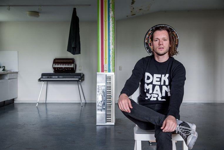 Matteo Myderwyk: 'Het klinkt allemaal wat minder rebels dan ik zou willen.' Beeld Jean-Pierre Jans