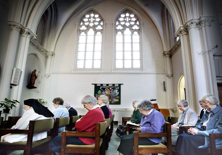 Huize Bijdorp, het klooster in het Zuid-Hollands Voorschoten waar al vier slachtoffers zijn gevallen. Beeld Archieffoto