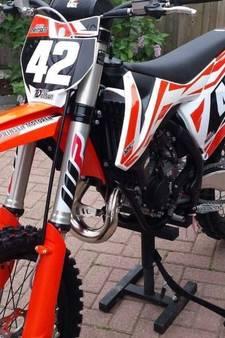 Peperdure crossmotor van 16-jarige Kevin gestolen tijdens race in Heerde