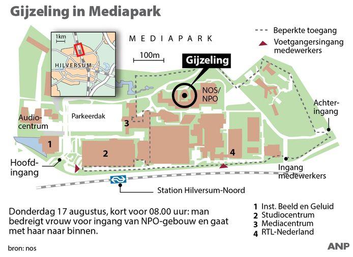 Gijzeling Mediapark Hilversum.