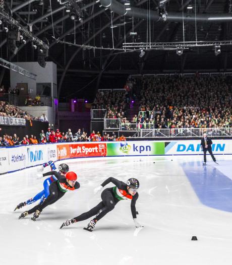 Dordts schaatsspektakel populair, kaarten World Cup Shorttrack vliegen de deur uit