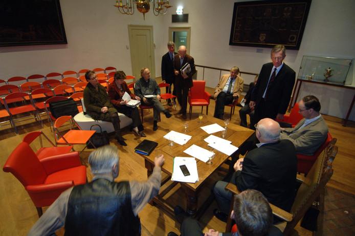Als de coalitie in Veere uit vier van de vijf partijen bestaat, blijven er slechts drie raadsleden over die zich 'oppositie' mogen noemen.