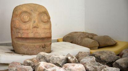 Tempel Mexicaanse vruchtbaarheidsgod blootgelegd waar gruwelijke rituelen plaatsvonden: hogepriesters vilden menselijke offers en trokken hun huid aan