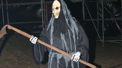Halloweentocht rond kasteel