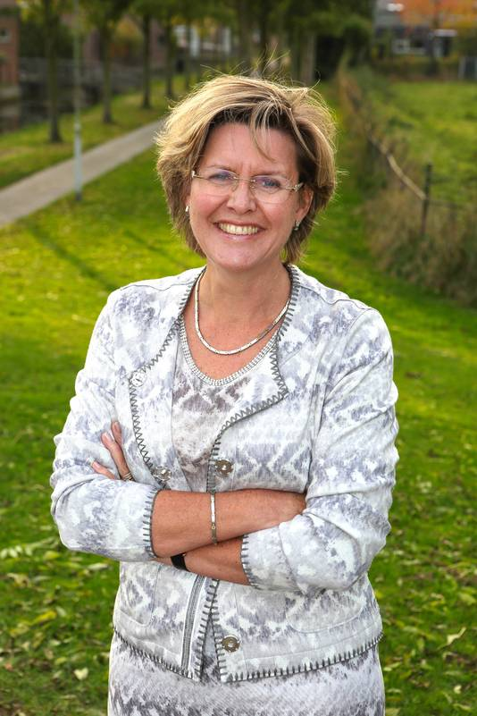 Burgemeester Jobke Vonk-Vedder van Halderberge