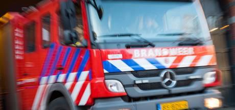 Bliksem slaat in woning in Papendrecht: brandweer rukt uit