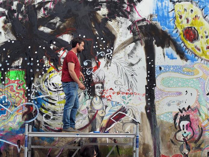 Het wordt voor Paco Dalmau de vijfde keer dat hij zijn White Wall Project naar de Waterweg-regio haalt.