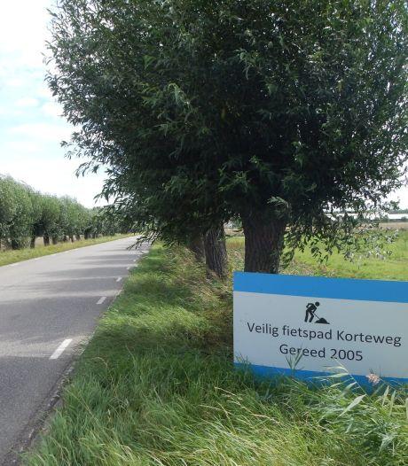 Zorgen over gevaarlijke verkeerssituatie Korteweg in Zuid-Beijerland: 'Dit is absurd'