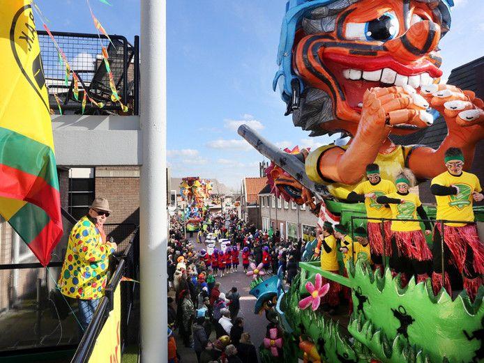 Carnavalsoptocht Boemeldonck.