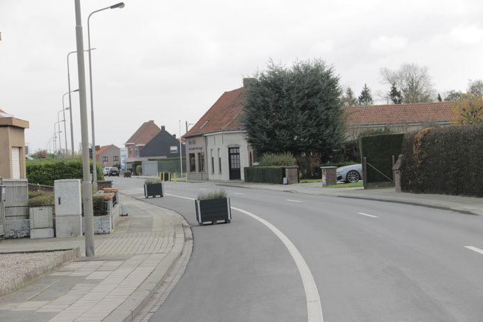 De Gentstraat in Ingelmunster.